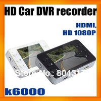 "Plastic Case K6000 1080P Car DVR 2.7"" LCD Recorder Video Dashboard Vehicle Camera w/G-sensor"