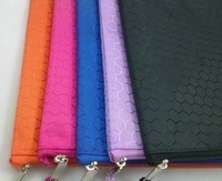 Freeshipping HIGHQUALITY A4 waterproof multicolour file zipper bags storage bag information pack 10pcs/lot