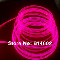 30M 6mm side glow fiber for swimming spool, garden decoration+free shipping