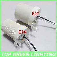 5 x Ceramic Screw Lamp Socket E27 High Temp E27 Lamp Base Holder for Light Bulb E27 Ceramic Base Ceiling Mounted Lamp Socket