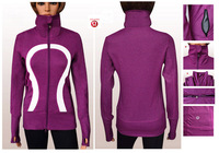 Free for shipping !2013 NWT Cheap Lulu lemon !Women's Instride jacket , Size 4,6,8,10,12 the wholesale lulu lemon price on line!
