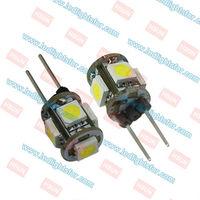 12v DC G4 5 LEDSMD5050,g4 led car  light,g4 household led ,G4 led bulb car