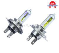 H4 P43t 12V 100W 2700K Xenon Yellow Halogen Bulb Headlights Car Light Bulbs Auto Lamp Replace Upgrade Free Shipping 2Pcs