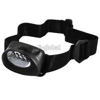 New 5 LED white Hiking Headlight Head Lamp Flash Light Lamp Super Bright  372