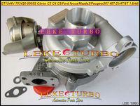GT1544V 753420-5005S 753420 Turbocharger For FORD C-Max Focus Citroen C3 C4 C5 Mazda3 Peugeot 307 407 S40 V50 DV4T DV6T 1.6L Hdi