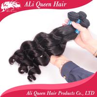 6A Unprocessed virgin hair mixed length virgin Malaysian loose wave 3 pcs lot  loose wave hair extenstion