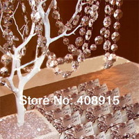 DHL / TNT free shipping, Crystal Garland/ Crystal Strand for Wedding Tree/ Wedding Backdrop/ Wedding Background Decoration 50