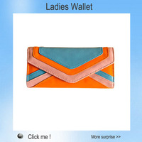 Free Shipping 3 Colors Patchwork Ladies Leather vintage Purse Women Fashion Stylish Button Long Checkbook Clutch Retro Wallet