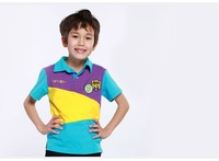 summer ajiduo brand masha and bear Children Boy Kids short sleeve sports t  POLO cotton tee shirt outerwear  PEXZ02P21