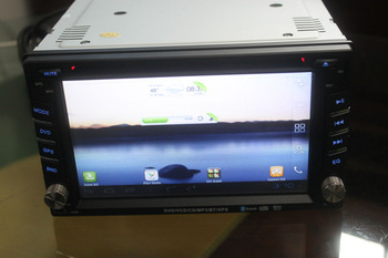 2 din car dvd gps universal with GPS,ATV Bluetooth PIP USB SD iPod and Android 4.0 OS with WIFI
