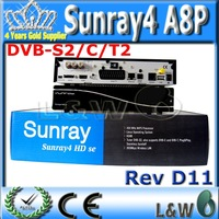 5 pcs/lot sunray4 A8P  satellite receiver With A8P security SIM card-Enigma 2  flash original software