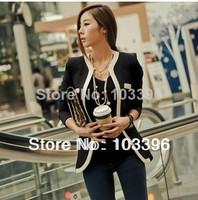 Women Blazers And Jackets New Cardigans 2014 Hot Stylish Fashion Blazer Clothing Women Sleeve Colors Slim Suit Coat Jacket K87