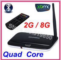 Bluetooth CS918 Cortex-A9 Mini PC Android TV box 4.2.2  tv stick 1.8 GHz 2GB RAM 8GB Rk3188 Quad Core XBMC HDMI + Remote Control