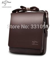 2014 Rushed Zipper Handbags Men Messenger Bags, Big Promotion Genuine Kangaroo Leather Shoulder Bag Man Briefcase, free Shipping