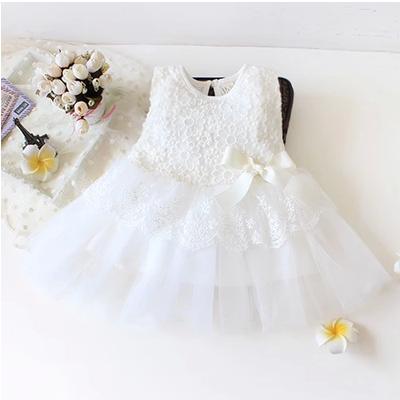 formal white carters brand newborn baby girls dress baptism christening birthday party wedding lace tutu sleeveless dress 80067(China (Mainland))