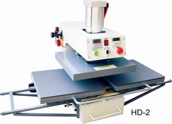 Heat Transfer/Press Machine, Bottom Glide Printer, L380*W380mm, Print T-shirt, Fabric, Glass, Metal, Ceramic, Wood,Video,Digital
