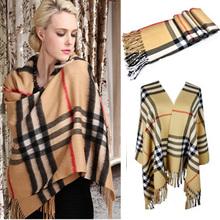 plaid shawl promotion