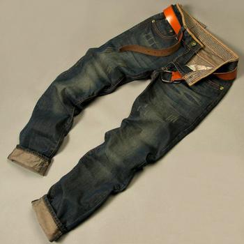 Hot jeans 2014 men's fashion  jeans men big sale autumn clothes new fashion brand Men's pants