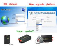 online tracking service platform imei active 1 year for TK102,TK103,TK104,TK106