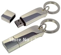 [ wholesale free express shipping ] custom metal usb flash drive + free packing+logo Print + gift cheapsest usb flash drives