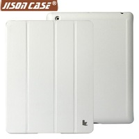 Hot~Free shipping pu material colorful protect smart case for new ipad ipad 2 ipad3 ipad4 accessories