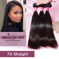 6A brazilian virgin hair straight weave bundles 3pcs lot,rosa hair products from 8 - 30inch Mixed length,Best quality human hair