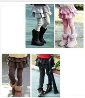 2014 new Autumn baby girls Leggings pants Korean girls skirt pants children culottes Wholesale 3-8y girls pants free shipping
