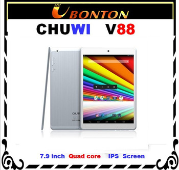 CHUWI V88 Quad core mini pad 7.9 inch IPS RK3188 2GB RAM 16GB Dual Camera Bluetooth 5.0MP Camera HDMI PCs