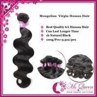 Mongolian 100% virgin hair body wave 3 bundles lot 1b black human hair weft  Top grade unprocessed Forawme hair weave