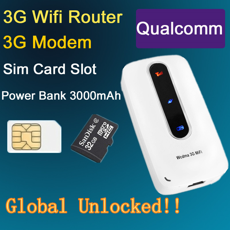 Unlocked 3G 4G Wifi Router Wireless pocket Router Mifi with SIM Slot 3000mAh Power Bank PK Huawei E5331 Not 4G Lte Router(China (Mainland))