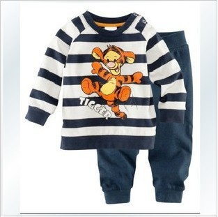 2013 new foreign trade brand children's underwear cotton children warm pajamas carter children suits kids pajamas children set