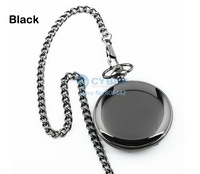 New 2014 hot selling Retro Vintage Style Steampunk Quartz Bronze Pendant Chain Clock Pocket Watch 3 colors SV000494