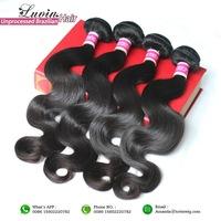 Queen Hair Products 3 Bundles Brazilian Virgin Hair Body Wave 100% Unprocessed Human Hair Weaves Wavy Grade 5A