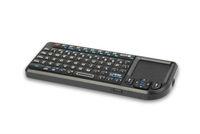 Rikomagic 2.4G wireless qwerty mini keyboard with touch pad(K01A)