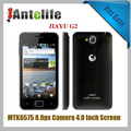 In stock Original jiayu g2 MTK6577 dual core 1G Mhz 3G 4.0''WVGA IPS 1G RAM 4G ROM 8.0Px WITH original gift packs