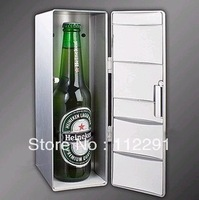 Free shipping home use mini refrigerator desk electric USB gadge USB gift heater cooler Mini usb fridge