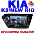 Car DVD for KIA K2 (2011-2012) RIO ( 2012) with 3G Host GPS 4GB IGO Navitel map built in FM bluetooth TV IPOD 4GB Free Shipping