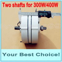 300W AC24V/12V Rare Earth WIND TURBINE GENERATOR PERMANENT MAGNET ALTERNATOR (DHL Free Shipping)