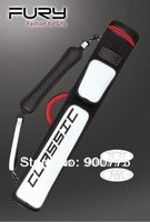 FURY Billiard case/Classic design/Premium quality/White&Red&black case/fashion style/2Butts*3shafts/FJ-02D-2