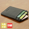 LAN free shipping genuine leather wallet card case