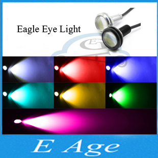 High Power Car Lights New Ultra-Thin 9W Eagle Eye lamp Led For Daytime Running Light DRL Lamp Fog Light Waterproof Do Licence(China (Mainland))