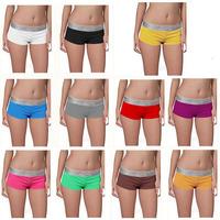 Free shipping lady's boyshort Panties 10pcs/lot (C2002) Woman's Boxer short Underwear each packed in Retail bag Drop shipping