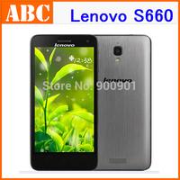 """Stock!Original Lenovo S660 Phone 4.7"""" QHD Original Android 4.2 MTK6582 Quad Core 1GB RAM 8GB ROM 3G WCDMA mobile Phones VS S650"""