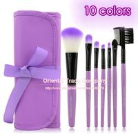 Makeup Tools 7 PCS Classical Makeup Brushes Set, Make up Brush Cosmetic set with  Makeup Brushes Case,Free shipping!