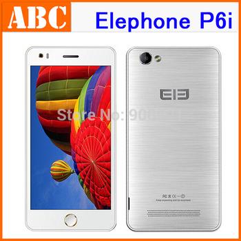 Original Elephone P6i MTK6582 Quad Core 1.3GHz Android 4.4 5.0 inch 960x540 IPS 1GB RAM 4GB ROM 13MP 8MP 2100MAH OTG Smartphone
