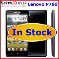 In Stock! Original Lenovo P780 MTK6589 Quad Core mobile phone 4000mAh 5.0'' Gorilla glass Android 4.2 Multi Language Russian