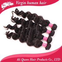 Free shipping Mixed length each size 1 pc 4pcs/lot,ali queen hair products brazilian virgin human hair weave wavy extension hair