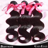"Ms lula hair products brazilian virgin hair body wave 4 bundles natural black human hair weave 8""-30""inch,free shipping"