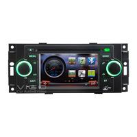 Vehicle Stereo GPS Navigation for Chrysler 300C PT Cruiser Auto Radio DVD Player Multimedia Headunit Sat Nav Autoradio Bluetooth