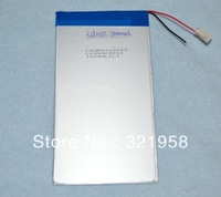 Good Qulity 3.7V 5000mAH(Real 5200mAh) Li-ion battery for CHUWI V88,ONDA V971,Pipo M9 Tablet PC, 3.2*82*150mm